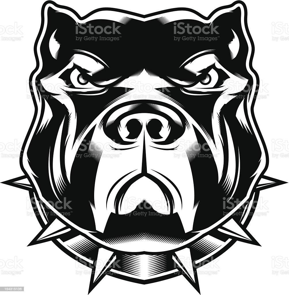 Line Drawing Face Vector : Pit bull arte vetorial de stock e mais imagens