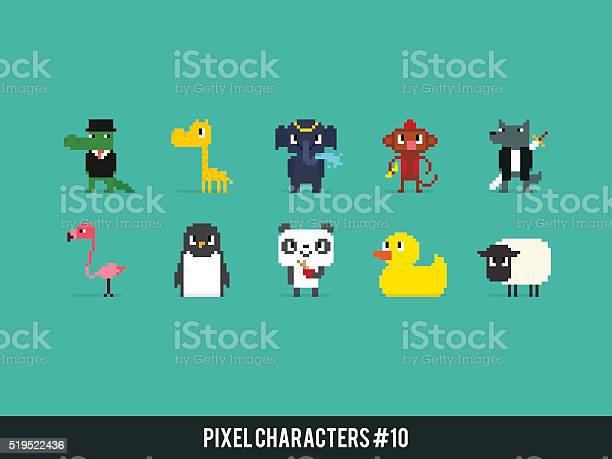 Pixel animals vector id519522436?b=1&k=6&m=519522436&s=612x612&h=tiz ug xs4waztt81fsqvqneeh hppcswvqxjccmvfg=