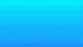Pixel art dithering background in blue color.
