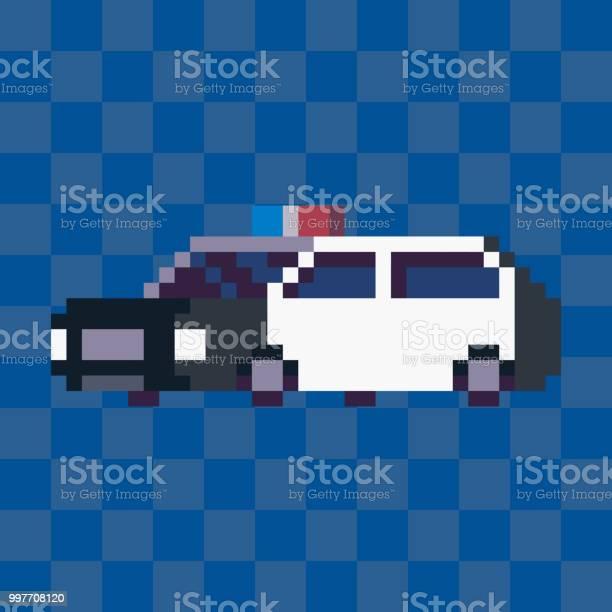 Pixel Car Free Vector Art 54 Free Downloads