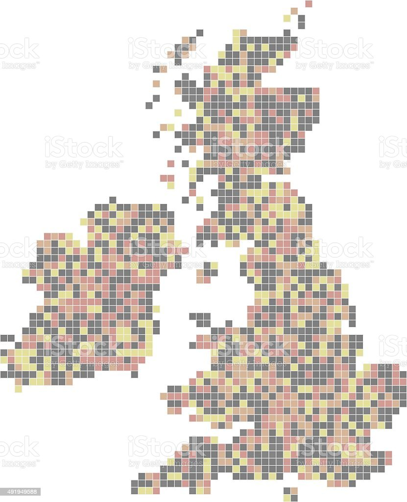 Pixel Art Royaumeuni Vecteurs Libres De Droits Et Plus D