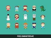 Pixel Characters