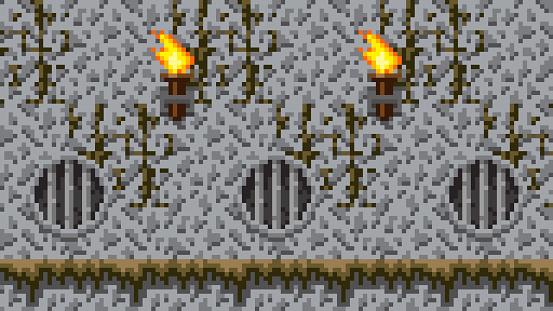 Pixel Dungeon Background