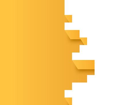 Pixel Edge 3D Depth Border