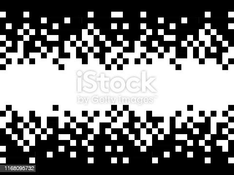 pixels frame design copy space