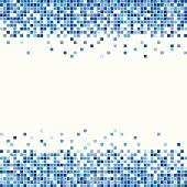 Pixel background suitable for Cover or inlay as a design element in Blue. So the buyer can safe time to fill the color.
