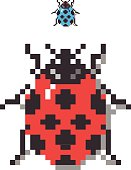 Pixel Lady Bug