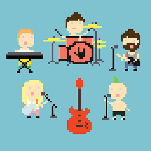 pixel band