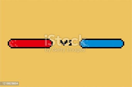 pixel versus