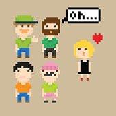 PixelArt people