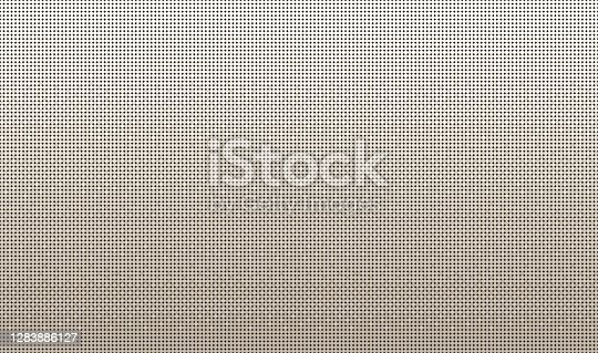 istock Pixelated 8-bit Neutral Beige to Light Brown Background Gradient for Retro Old-School Video Game or Poster and Flyer Design 1283886127