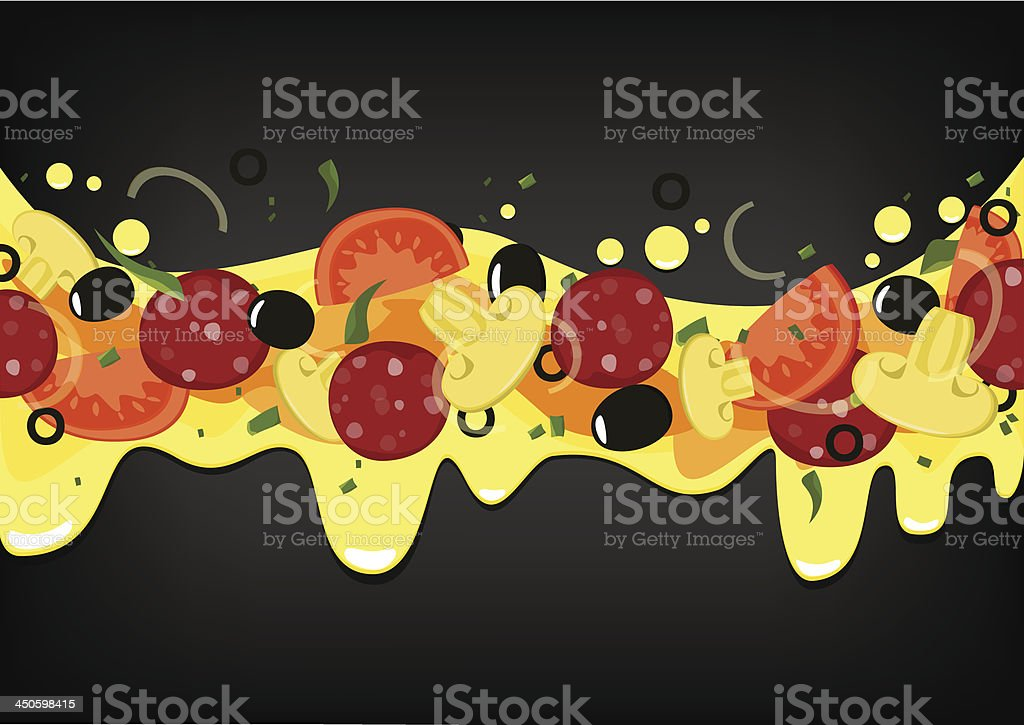 Pizza background. royalty-free pizza background stock vector art & more images of backgrounds