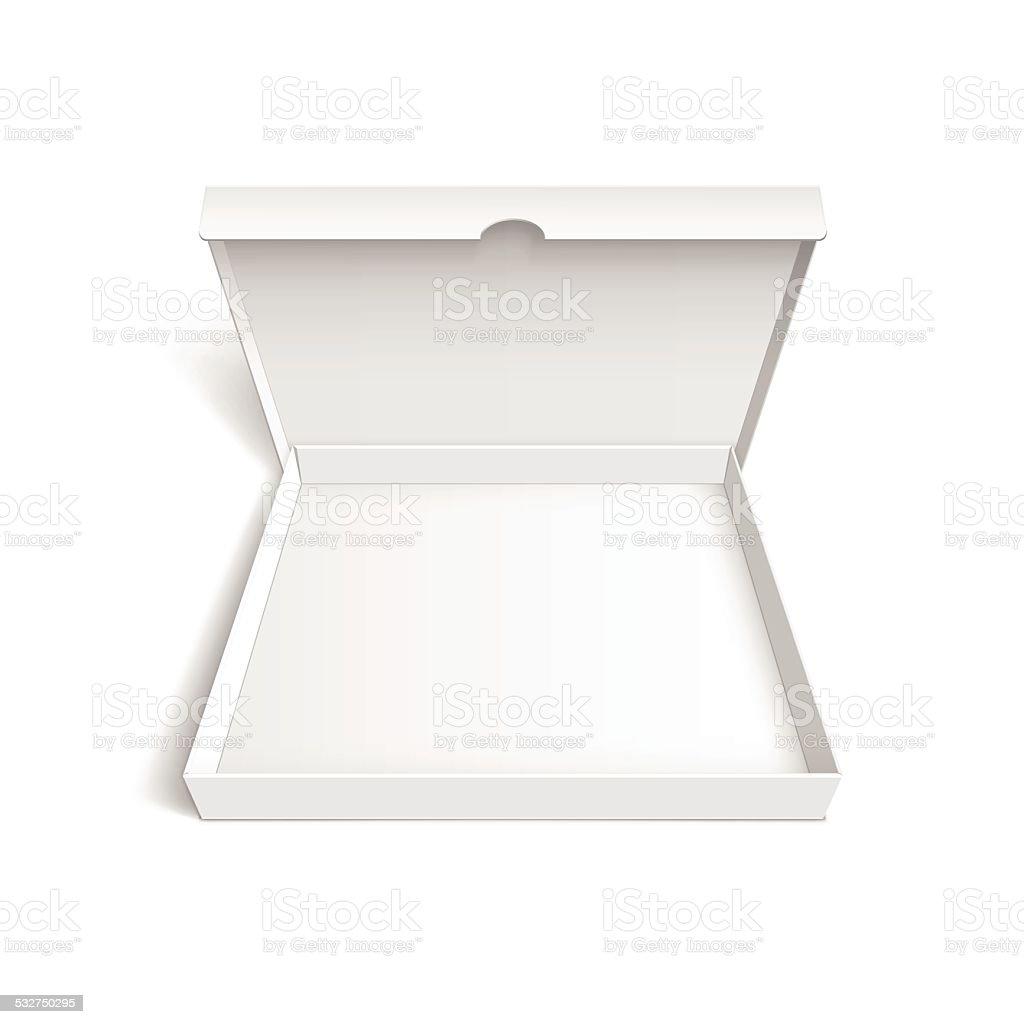ピザボックス包装テンプレート白背景 2015年のベクターアート素材や