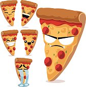 istock Pizza Cartoon Set B 537019069