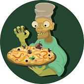 Pizza from the zombies