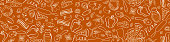 istock Pizza hand drawn seamless border 1263253054