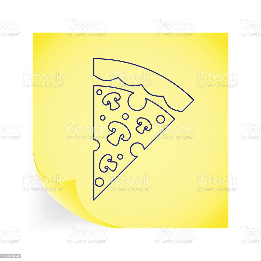 Pizza icon royalty-free pizza icon stock vector art & more images of baked pastry item