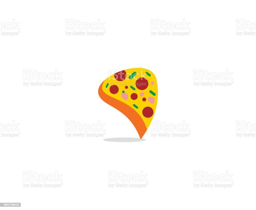 Pizza icon pizza icon - stockowe grafiki wektorowe i więcej obrazów bez ludzi royalty-free