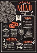 istock Pizza menu restaurant, food template. 928066398