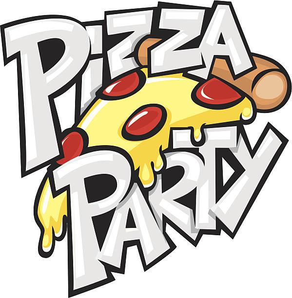 ピザパーティ - ピザ点のイラスト素材/クリップアート素材/マンガ素材/アイコン素材