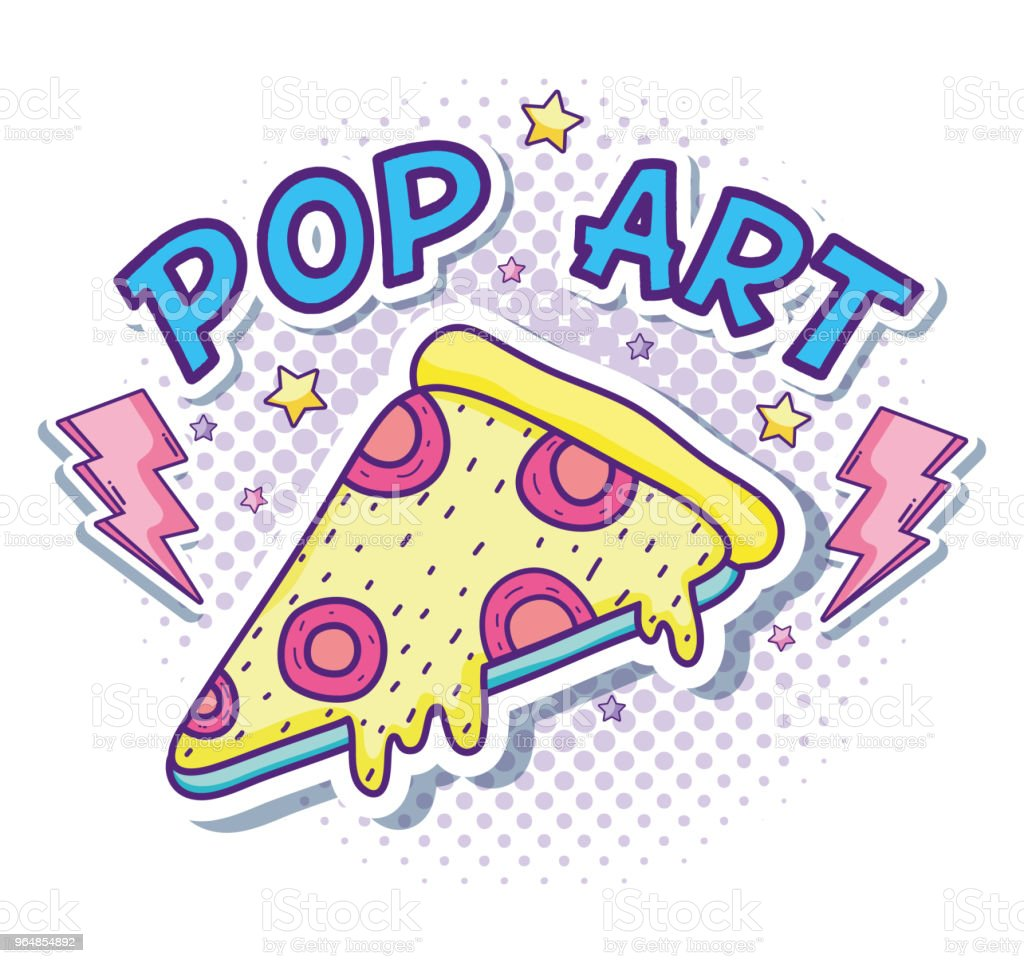 Pizza pop art royalty-free pizza pop art stock vector art & more images of art