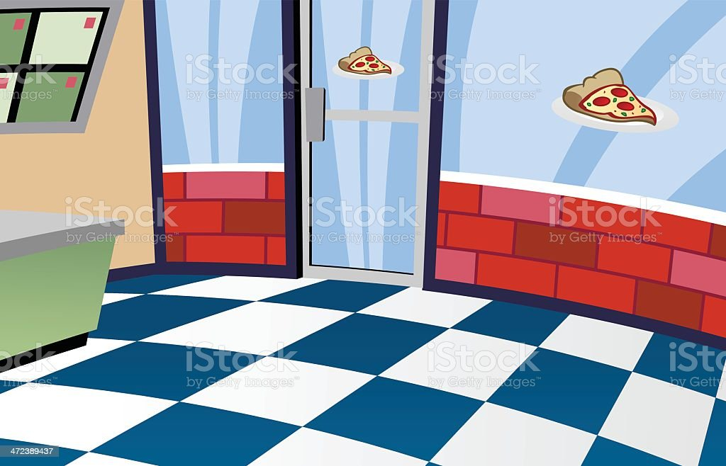 Pizza shop royalty-free pizza shop stock vector art & more images of business