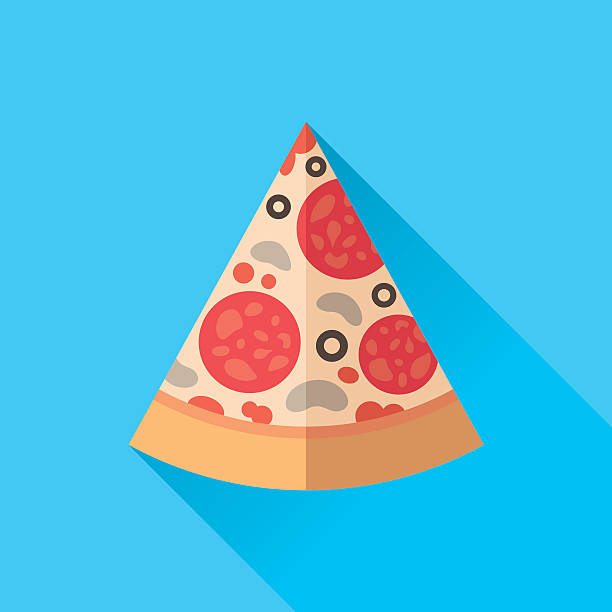 Pizza Slice vector art illustration