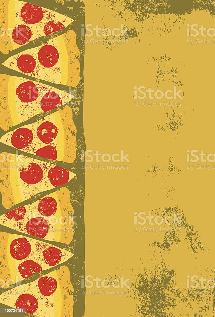 pizza slices royalty-free stock vector art