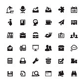 Place of work and office supply - Ultimate pack #54  36 exclusive and professionally created vector icons set. Complete collection https://www.istockphoto.com/collaboration/boards/mzrx2NNkGUed1WzIqlF5AA