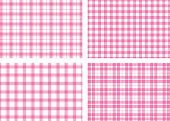 Plaid background vector illustration material collection
