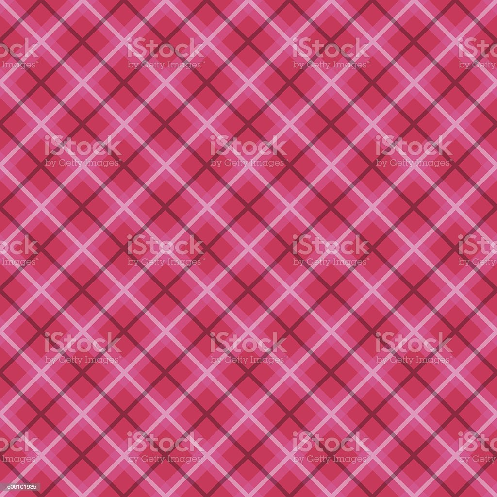 Plaid Fabric. Checkered vector background. Abstract Seamless pattern. royalty-free stock vector art