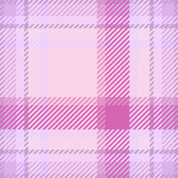 plaid or tartan vector eps10 - preppy fashion stock illustrations, clip art, cartoons, & icons