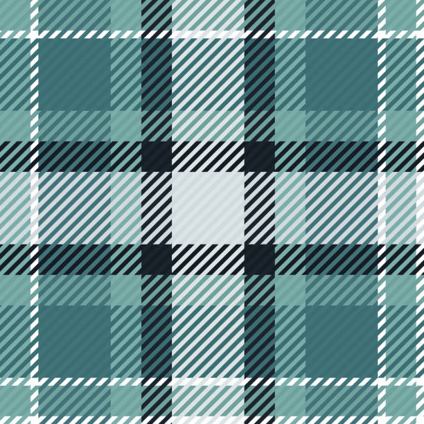 Plaid or tartan vector is background or texture in many color Plaid or tartan vector is background or texture in many color tartan pattern stock illustrations
