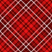 Plaid pattern in red, burgundy, pink and white