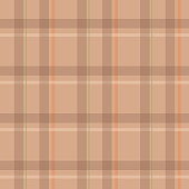 Herringbone seamless check plaid for flannel shirt, skirt, bag, or other modern autumn winter fashion textile and fabric print. Vector.