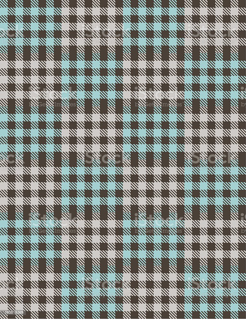 Plaid Vector Tile Background Pattern royalty-free stock vector art