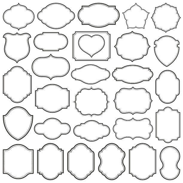 plain frames iv - 形狀 幅插畫檔、美工圖案、卡通及圖標