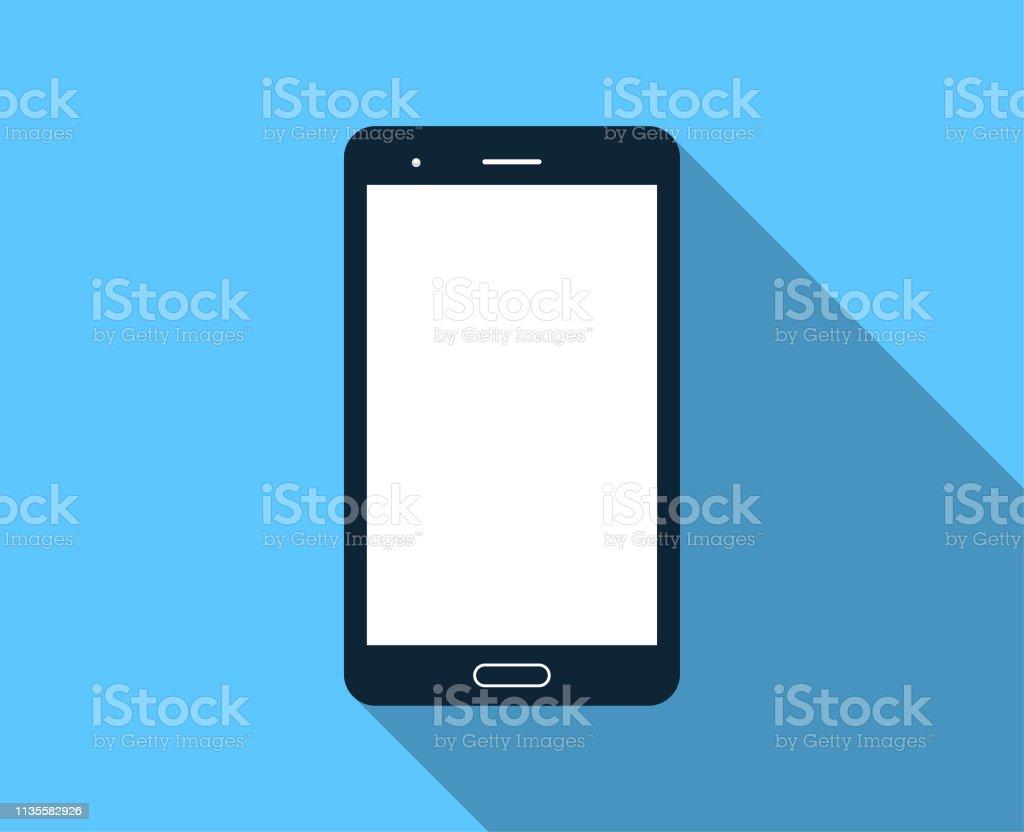 青の背景に無地のスマートフォン からっぽのベクターアート素材や画像を多数ご用意 Istock