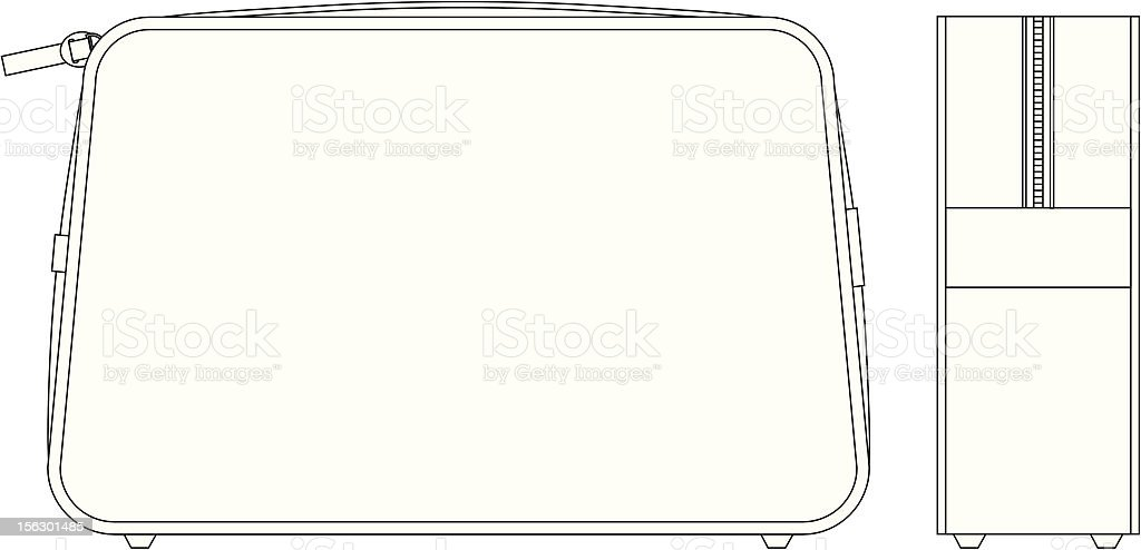 Plain Wash Bag Fashion Flat Template royalty-free plain wash bag fashion flat template stock vector art & more images of adult