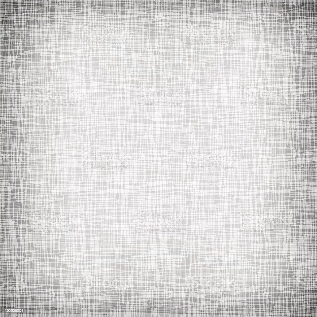 A plain white canvas with texture vector art illustration