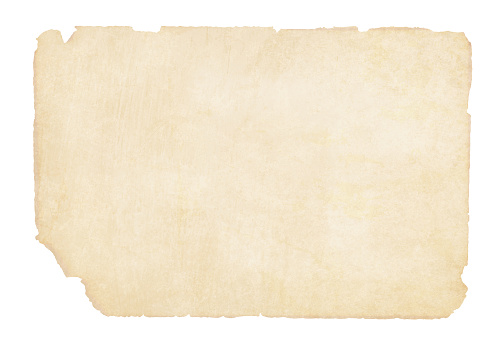 Plain  yellowish brown beige grunge paper background vector illustration