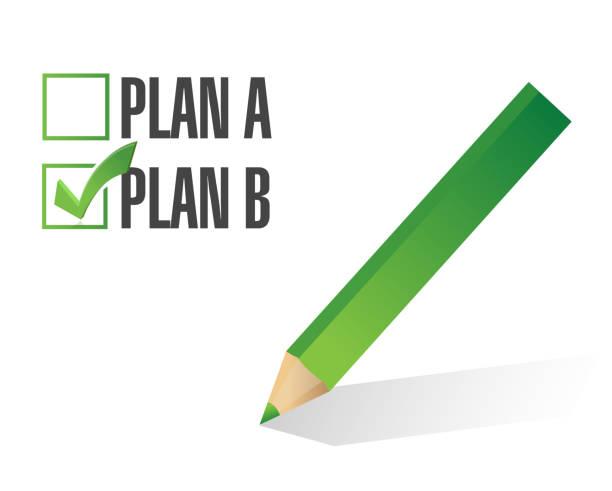 60 Plan A Plan B Illustrations, Royalty-Free Vector Graphics & Clip Art -  iStock
