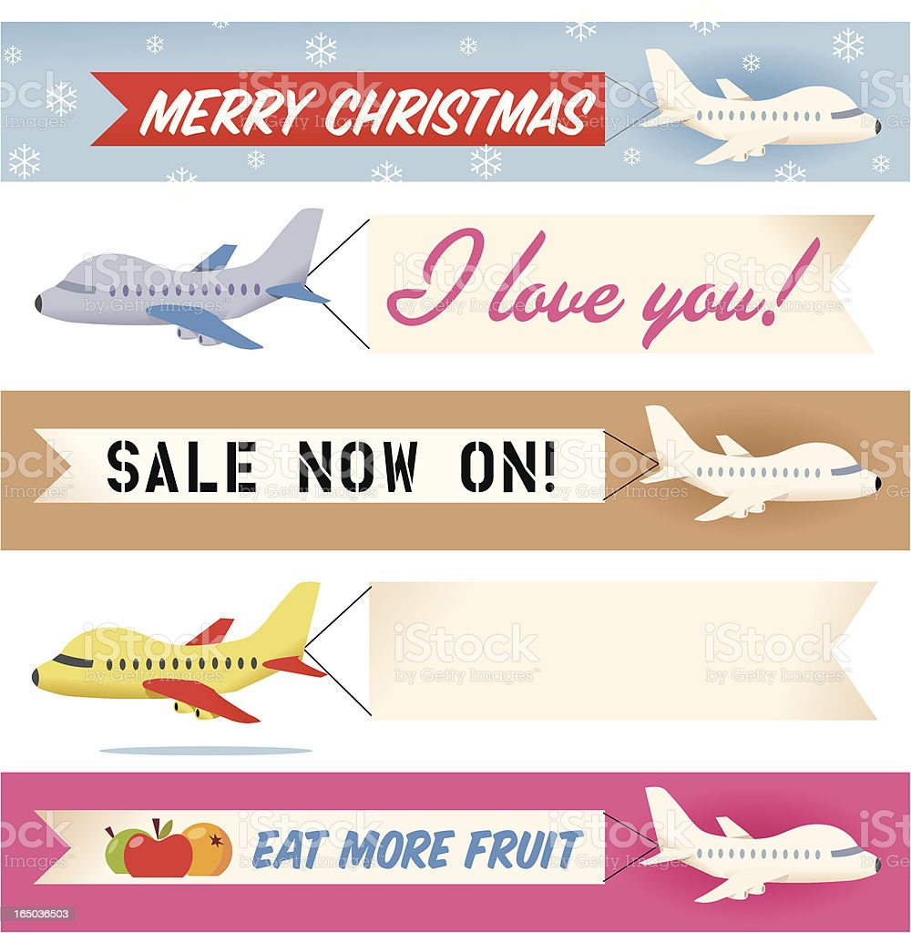 Plane and Simple Message royalty-free plane and simple message stock vector art & more images of advertisement