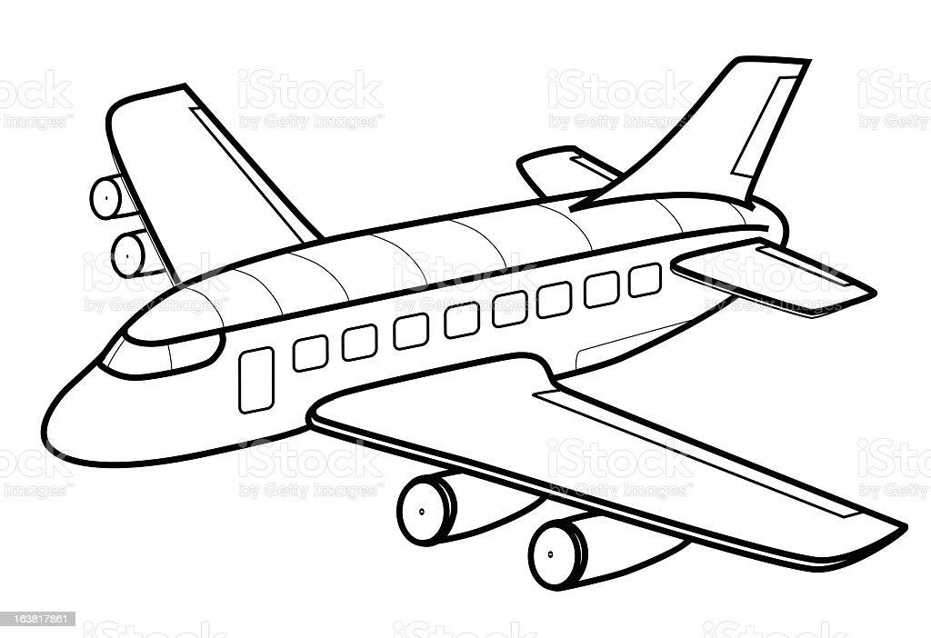 Flugzeuge Comic Flugzeug Ausmalbild Malvorlage Comics Flugzeug