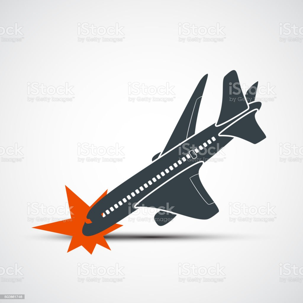 Plane Crash Stock Vector Art & More Images of 2015 502861746 | iStock