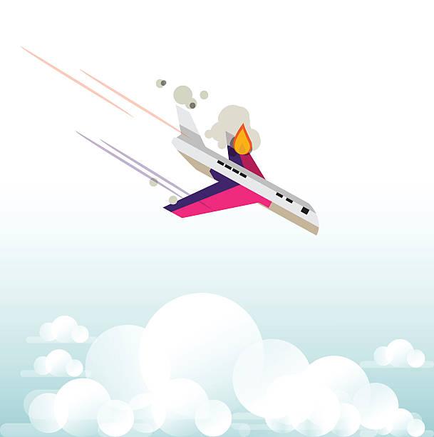 Best Plane Crash Illustrations, Royalty-Free Vector ...