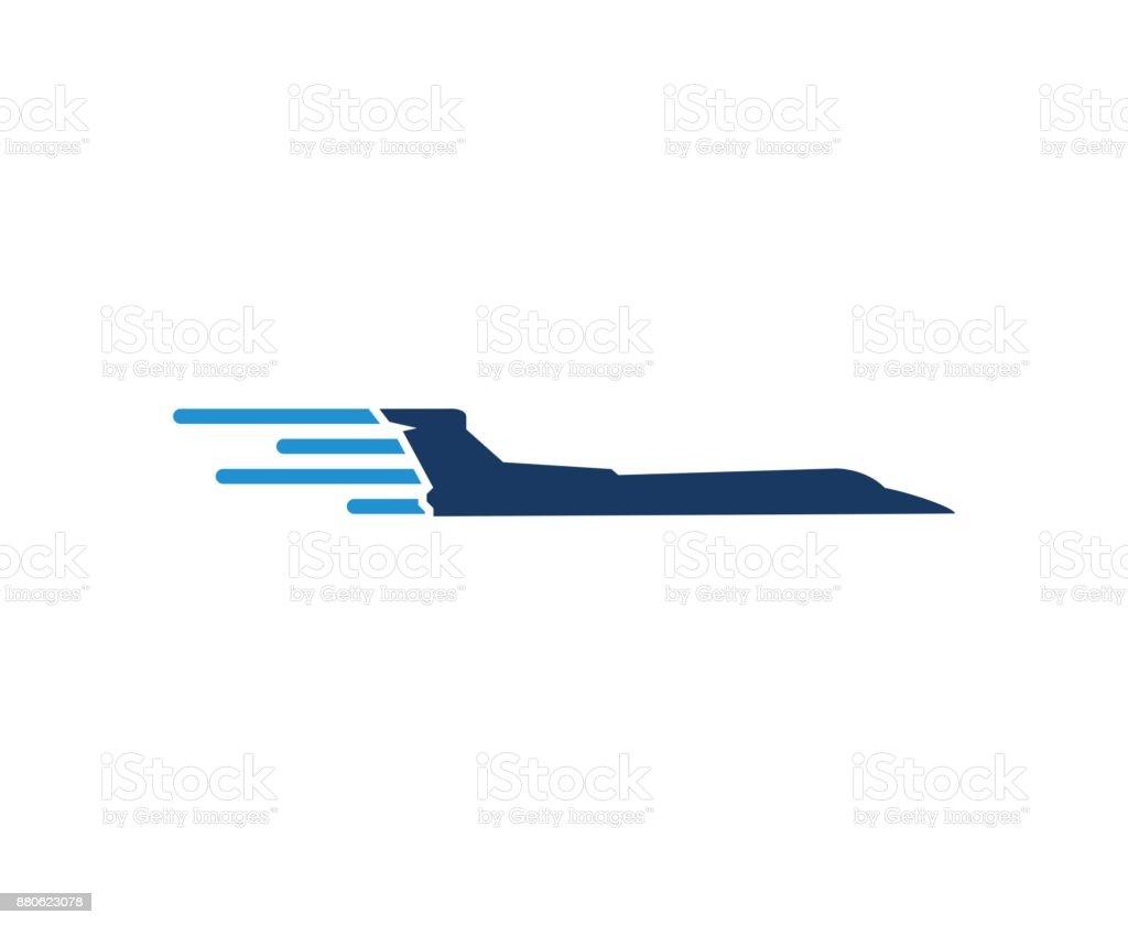Plane icon vector art illustration