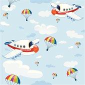 plane vector pattern