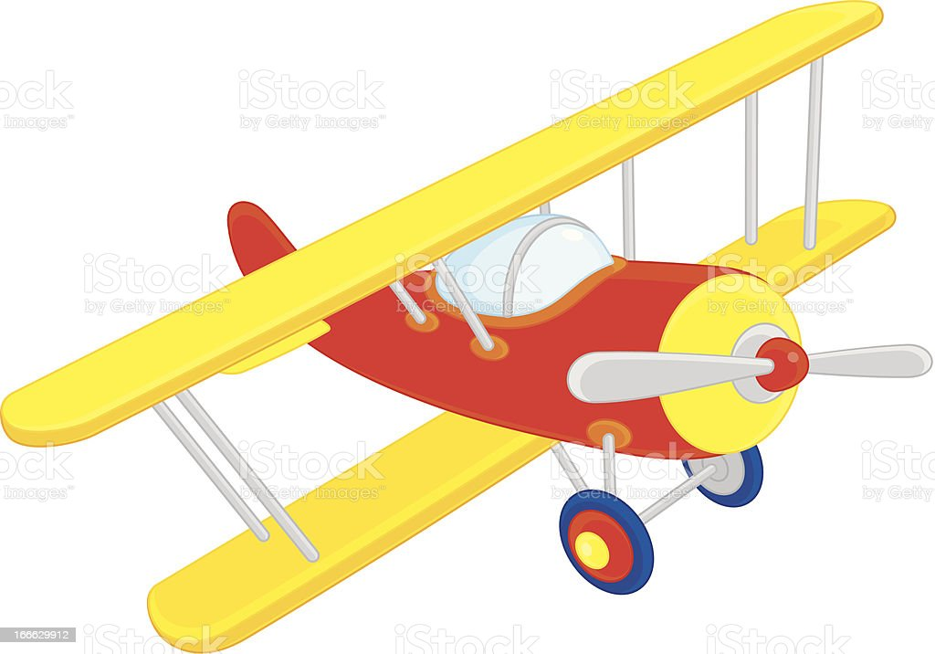 royalty free toy airplane clip art vector images illustrations rh istockphoto com Airplane Clip Art Free Downloads airplane clip art free download