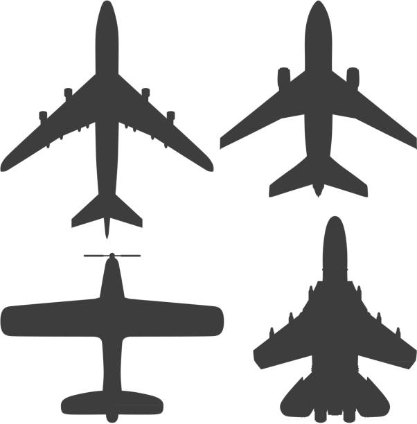 Planes vector art illustration